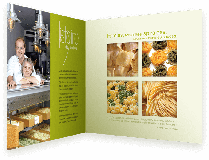 homemade restaurant fresh healthy food design advertising marketing art creative website brochure unique concept
